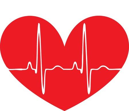 latidos del coraz�n: Pulso rojo coraz�n