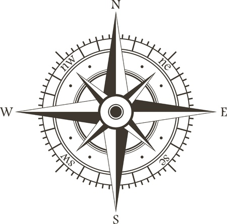 compass rose: Wind rose