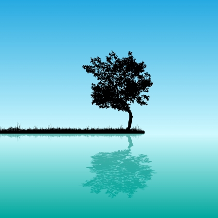 Árbol de fondo