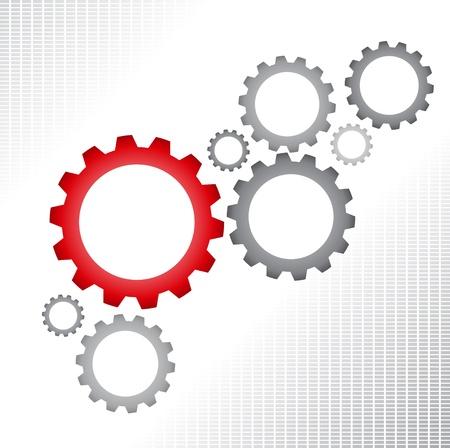 gears background: Gears background