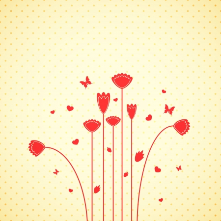 Floral background Stock Vector - 17005542