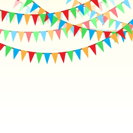 bunting flags: Merry christmas ribbons