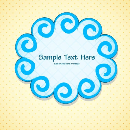 Pretty frame Stock Vector - 17005540