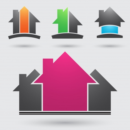 residential market: Real estate Illustration