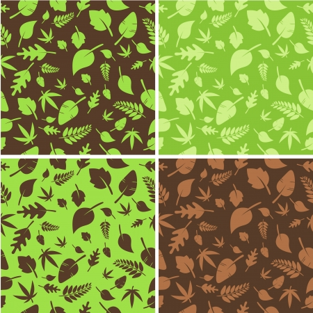 Leaves background Stock Vector - 17193155