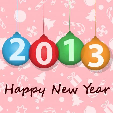 New Year card Stock Vector - 17193160