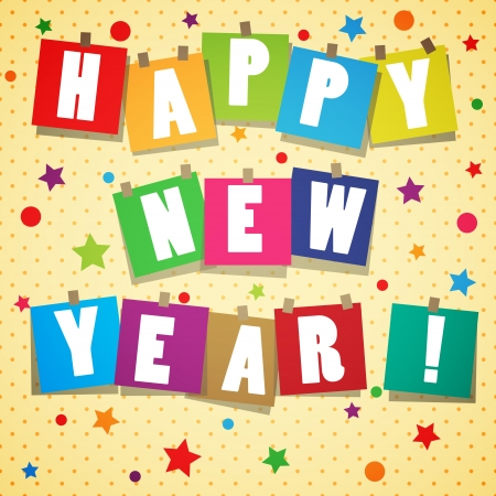 New year background Stock Vector - 17193159
