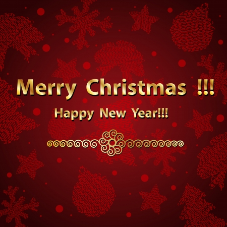 christmass: Merry Christmass background Illustration