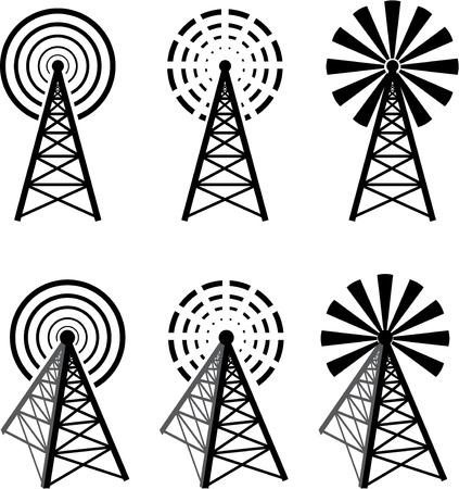 communications technology: Torre de radio