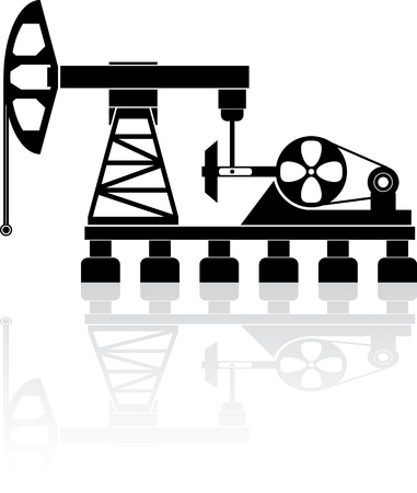 Oil pump Stock Vector - 17230936