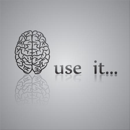 in use: Use it black Illustration