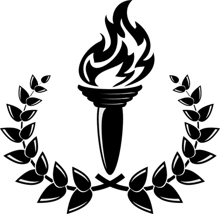torch: The winning fire Illustration