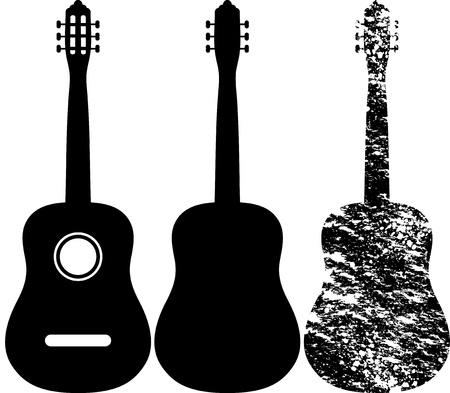 guitarra clásica: Guitarra Vectores