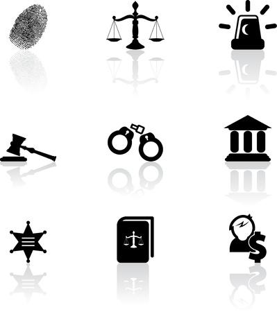 police arrest: Icone giustizia