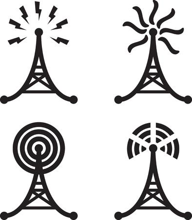 антенны: Радиовышка