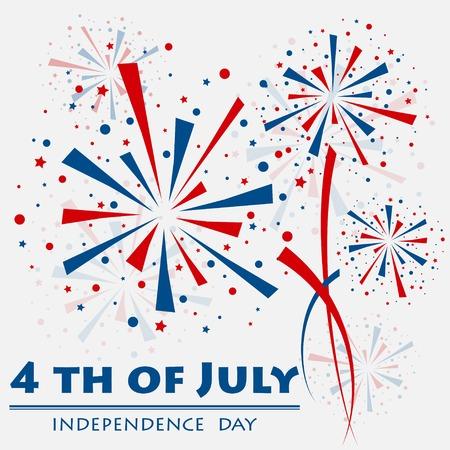 Firework independence Illustration