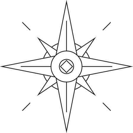 north star: Wind rose