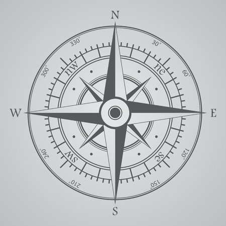 compass rose: Compass background