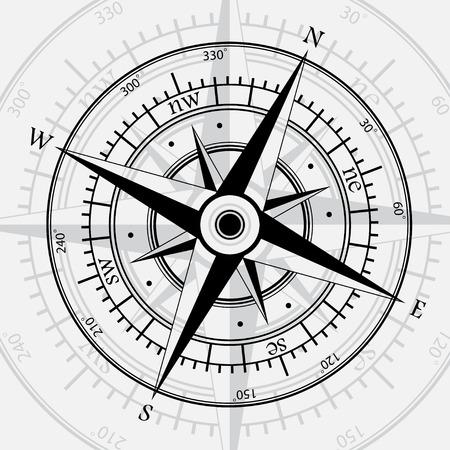 Compass white