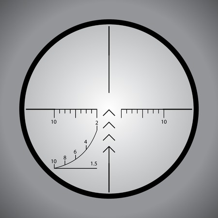 scope: Sniper scope Illustration