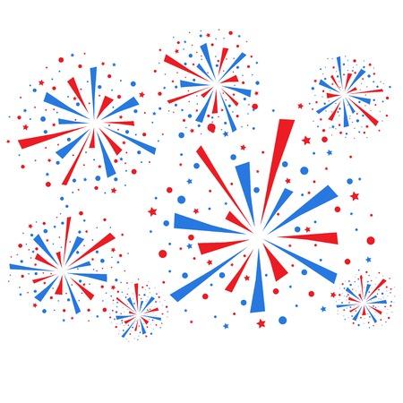 descriptive color: Fireworks