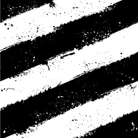 Black and white grunge ink blots background.