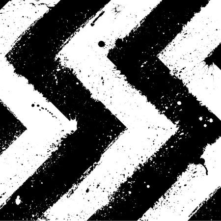 black grunge background: Abstract black and white grunge background.  Illustration