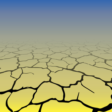 Gradient cracks background Illustration
