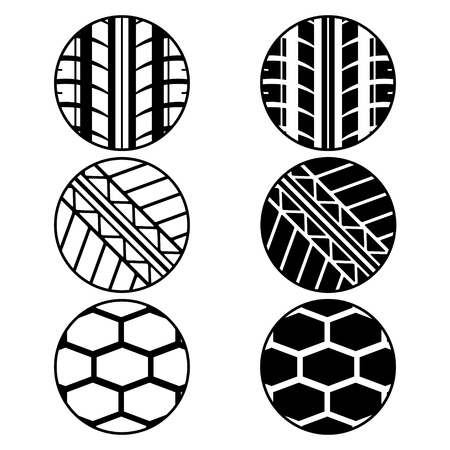 nascar: Tire tracks in circles