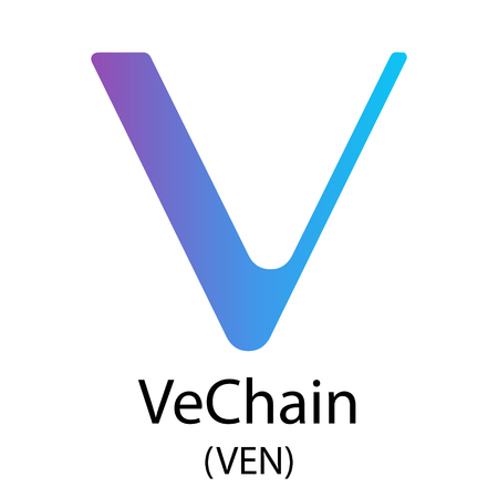 VeChain cryptocurrency symbol