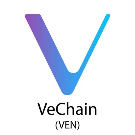 VeChain cryptocurrency symbol