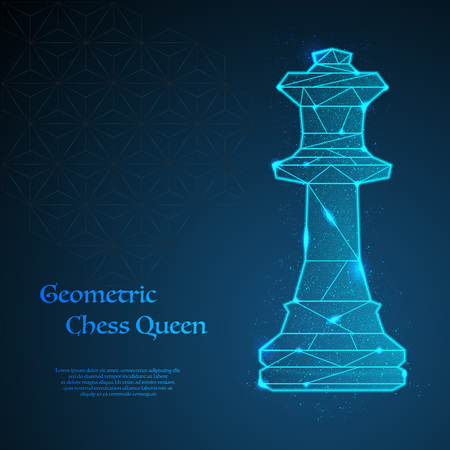 Chess queen background