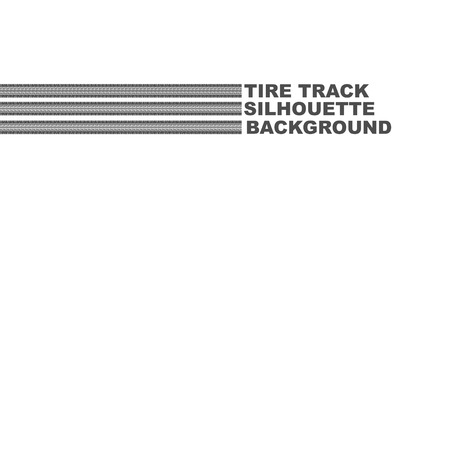 Three tire tracks text