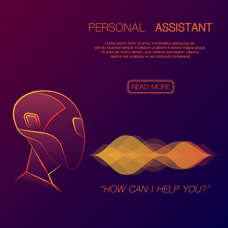 Robot personal assistant background