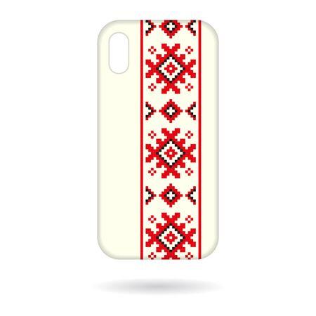 Phone cases squares ornament