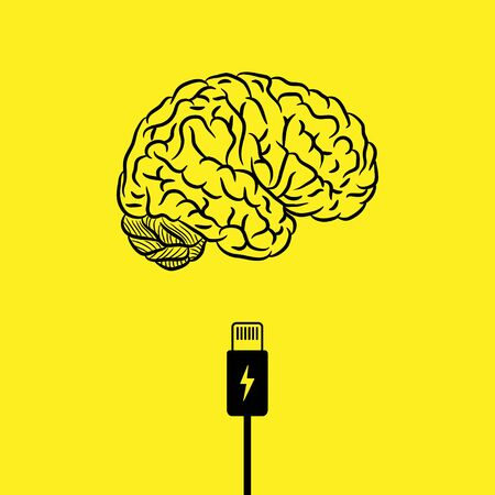 Charge your brain background