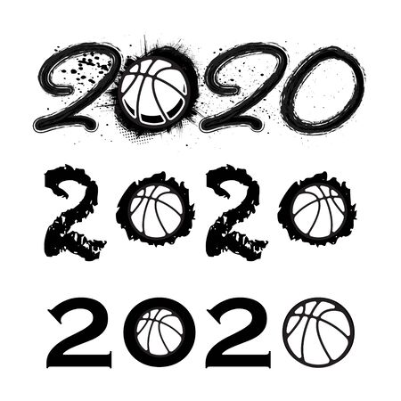 Basketball 2020 new year numbers