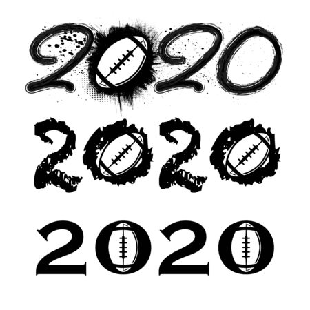 American football 2020 new year numbers