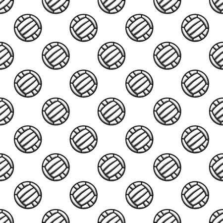 Seamless white waterpolo background Ilustração