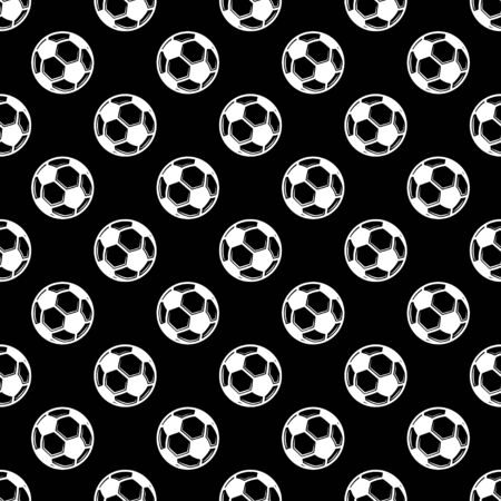 Seamless black football background