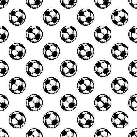 Seamless white football background
