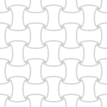 Seamless outline first element pattern background 向量圖像