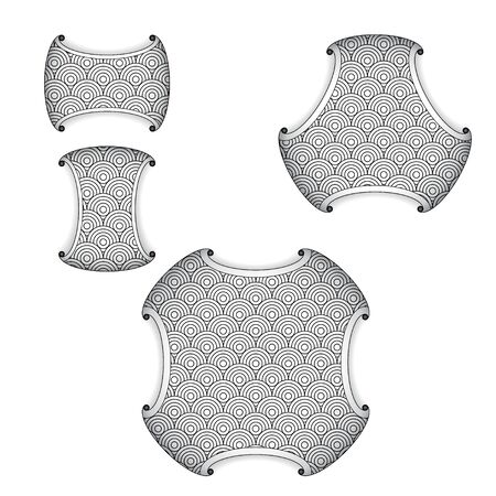 Design elements circles for seamless patterns 版權商用圖片 - 143091891