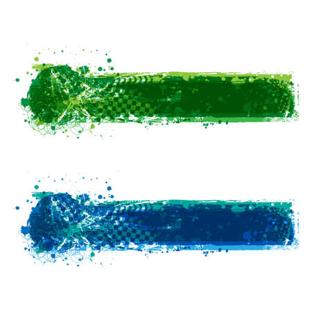 Transparent grunge race frames set 版權商用圖片 - 154987082