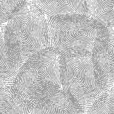 Fingerprint black seamless background
