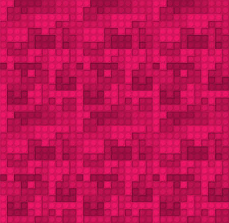 Constraction kit elements pink background