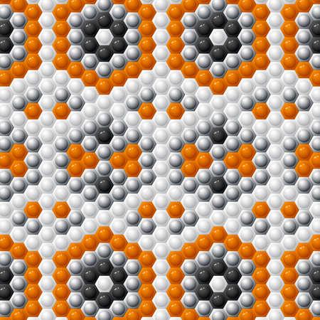 Hexagon color wallpaper Vettoriali