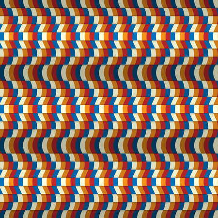 Seamless wave pattern background Vettoriali
