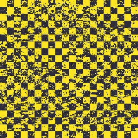 Seamless sport flag yellow background Vettoriali