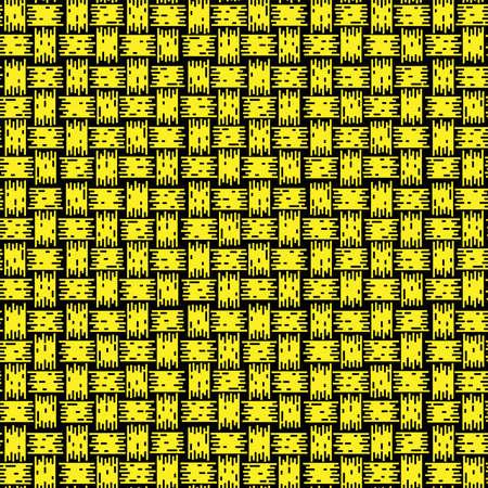 Knitting seamless background yellow pattern